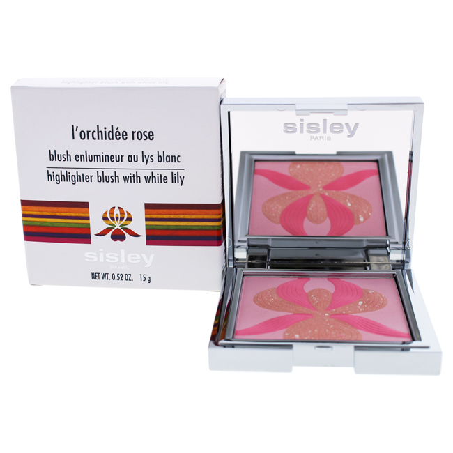L'Orchidee Rose Highlighter Blush With White Lily by Sisley for Women - 0.52 oz Blush