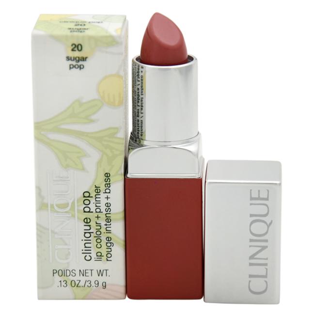 Clinique Pop Lip Colour + Primer - # 20 Sugar Pop by Clinique for Women - 0.13 oz Lipstick