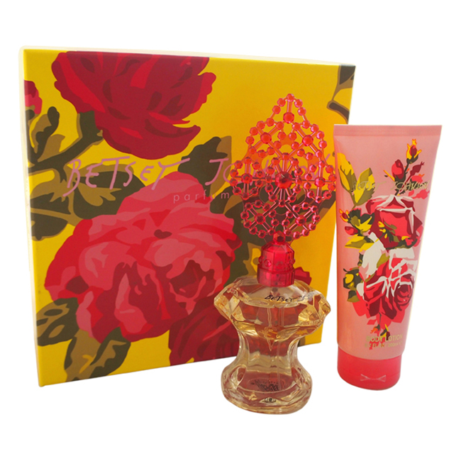 Betsey Johnson by Betsey Johnson for Women - 2 Pc Gift Set 3.4oz EDP Spray, 6.7oz Body Lotion