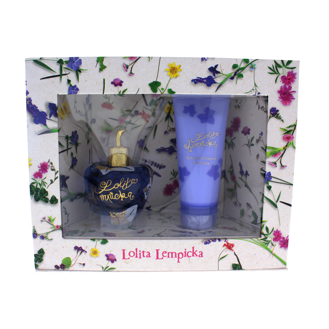 Lolita Lempicka by Lolita Lempicka for Women - 2 Pc Gift Set 3.4oz EDP Spray, 3.4oz Perfumed Velvet Cream