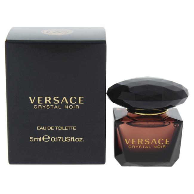 Versace Crystal Noir by Versace for Women - 5 ml EDT Splash (Mini)
