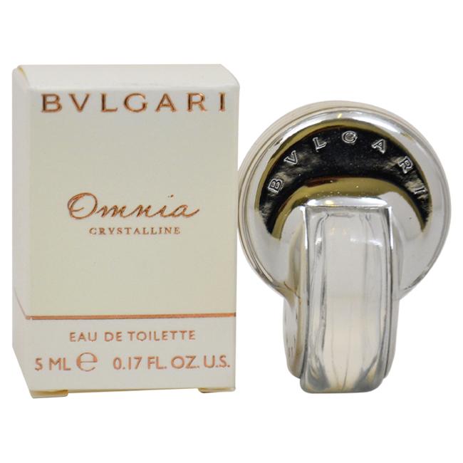 Bvlgari Omnia Crystalline by Bvlgari for Women - 5 ml EDT Splash (Mini)