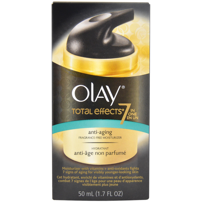 Total Effects 7 in 1 Anti-Aging Moisturizer by Olay for Women - 1.7 oz Moisturizer