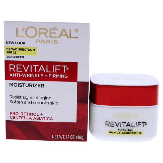 Revitalift Anti-Wrinkle Firming Day Cream  by L'Oreal Paris for Women - 1.7 oz Cream