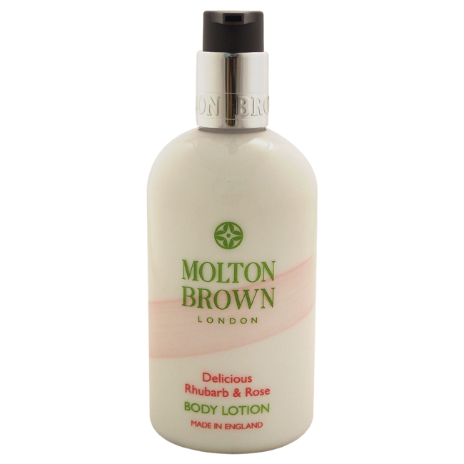 Delicious Rhubarb & Rose Body Lotion by Molton Brown for Women - 10 oz Body Lotion