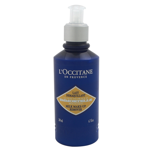 Immortelle Milk Make Up Remover by L'Occitane for Women - 6.7 oz Make Up Remover
