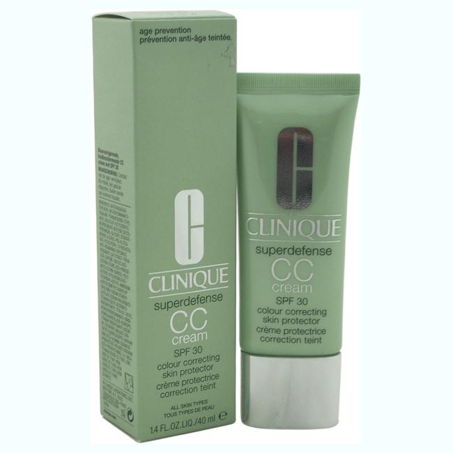 Superdefense CC Cream SPF 30 - Light Medium by Clinique for Women - 1.4 oz Cream