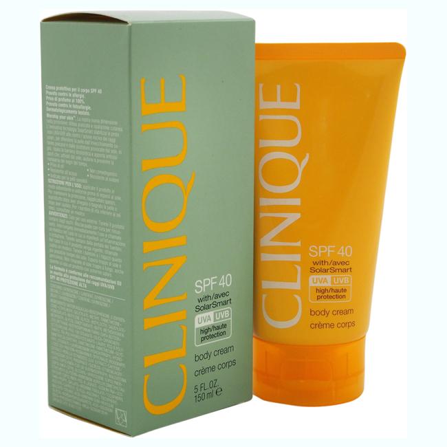 Clinique Body Cream SPF 40 by Clinique for Women - 5 oz Sunscreen
