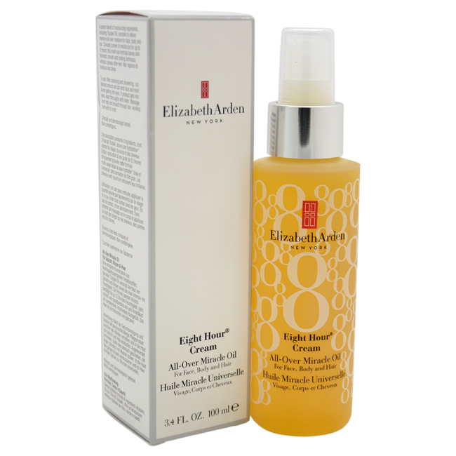 Eight Hour Cream All-Over Miracle Oil by Elizabeth Arden for Women - 3.4 oz Oil