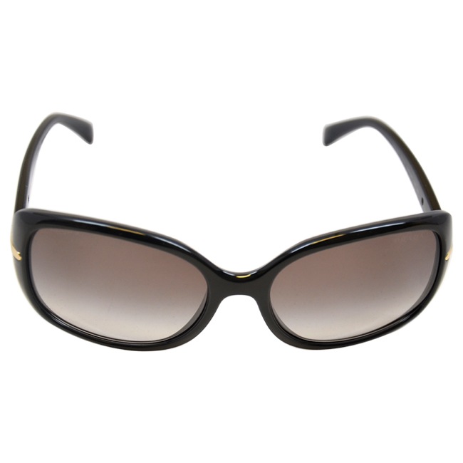 Prada PR 08OS 1AB0A7 Black/Gray by Prada for Women - 57-17-130 mm Sunglasses