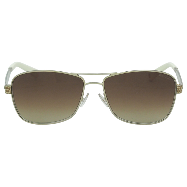 Jimmy Choo Cris/S 03YG - Light Gold/Brown Gradient by Jimmy Choo for Women - 57-14-135 mm Sunglasses