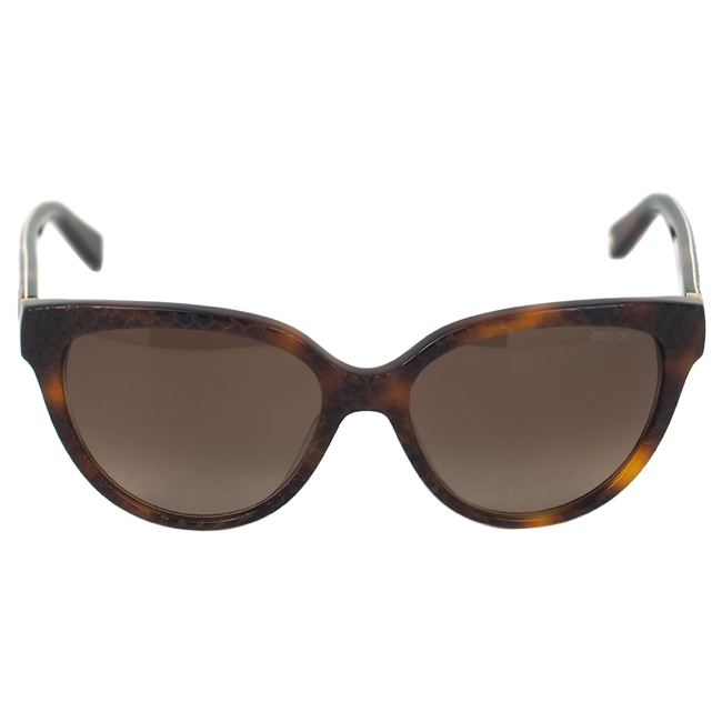 Jimmy Choo ODETTE/S 6UKJ6 - Havana by Jimmy Choo for Women - 56-17-140 mm Sunglasses
