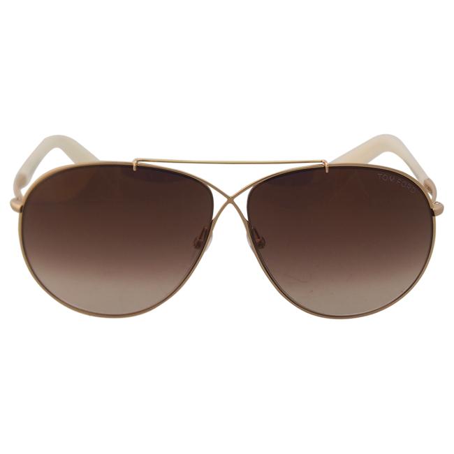 Tom Ford FT0374 Eva 28G - Rose Gold by Tom Ford for Women - 61-10-140 mm Sunglasses
