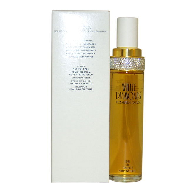White Diamonds by Elizabeth Taylor for Women - 3.4 oz EDT Spray (Tester)