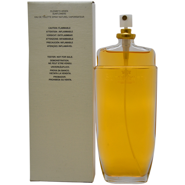 Sunflowers by Elizabeth Arden for Women - 3.3 oz EDT Spray (Tester)
