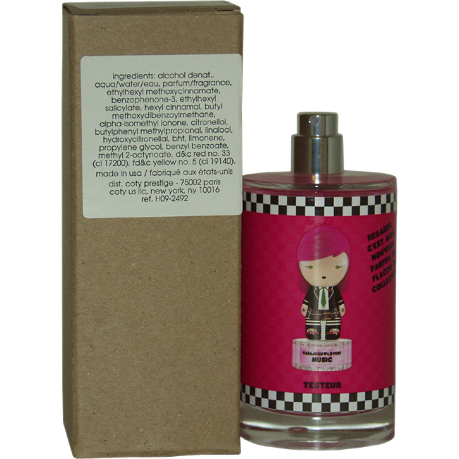 Harajuku Lovers Wicked Style Music by Gwen Stefani for Women - 3.4 oz EDT Spray (Tester)