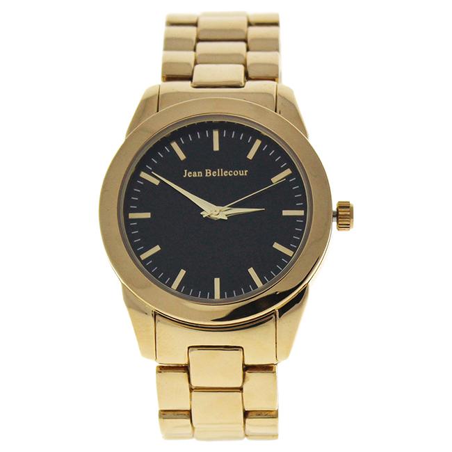 A0372-4 Gold Stainless Steel Bracelet Watch by Jean Bellecour for Women - 1 Pc Watch