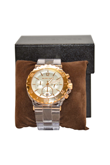 MK5444 - Clear Plastic Link Bracelet Quartz Chronograph by Michael Kors for Womens - 1 Pc Watch