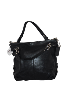 14142M Brooke Pebble Black Leather Hobo Bag by Coach for Women - 1 Pc Bags