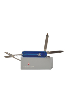 Classic SD Knife Sapphire # 54212 by Swiss Army for Unisex - 1 Pc Pocket Knife