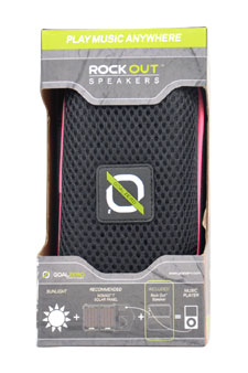 Rock Out Portable Speakers - Pink by Goal Zero for Unisex - 1 Pc Speakers