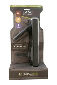 Torch Solar Crank Light by Goal Zero for Unisex - 1 Pc Flashlight