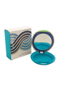 Sun Foundation Compact Case Blue (Limited Edition) A with Mirror by Shiseido for Unisex - 1 Pc Empty Case
