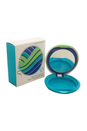 Sun Foundation Compact Case Green (Limited Edition) B with Mirror by Shiseido for Unisex - 1 Pc Empty Case
