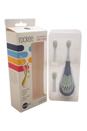 Rockee The Toothbrush That Rocks # - VRT155B Chomper by Violife for Kids - 3 Pc Set Rockee Toothbrush, 2 Additional Brush Heads