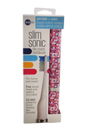 Slim Sonic Electric Toothbrush - # VSS153 Mosaic by Violife for Unisex - 3 Pc Set Toothbrush, Additional Brush Head, AAA Battery