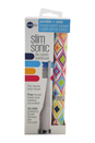 Slim Sonic Electric Toothbrush - # VSS152 Crawford by Violife for Unisex - 3 Pc Set Toothbrush, Additional Brush Head, AAA Battery