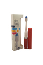 Slim Sonic Electric Toothbrush - # VS2T705 Garnet Shimmer by Violife for Unisex - 3 Pc Set Toothbrush, Additional Brush Head, AAA Battery