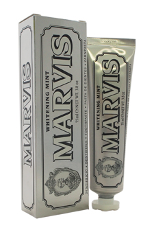 Whitening Mint Travel by Marvis for Unisex - 3.8 oz Toothpaste