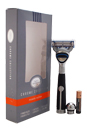 Fusion Chrome Collection Power Razor by The Art of Shaving for Men - 1 Pc Razor