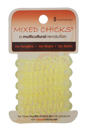 Spring Bands - Light Yellow by Mixed Chicks for Unisex - 5 Pc Hair Bands