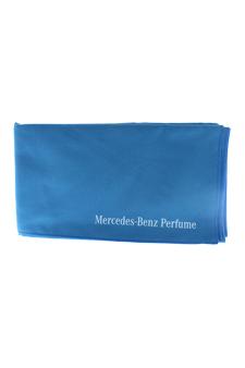 Sport Towel Microfiber - Blue by Mercedes-Benz for Men - 1 Pc Towel