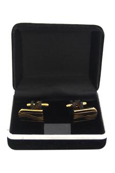 B2 Cufflinks by Polanni for Men - W 2 x L 1.2 cm Cufflinks