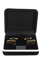 B2 Cufflinks by Polanni for Men - W 2 x L 1.2 cm Cufflinks