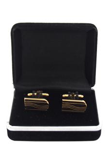 B68 Cufflinks by Polanni for Men - W 2.2 x L 1.1 cm Cufflinks