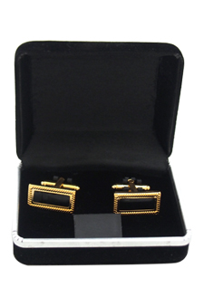 B46 Cufflinks by Polanni for Men - W 2 x L 1 cm Cufflinks