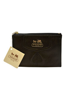46678 Madison Leather Mini Skinny - SV/Black by Coach for Women - 1 Pc Bag