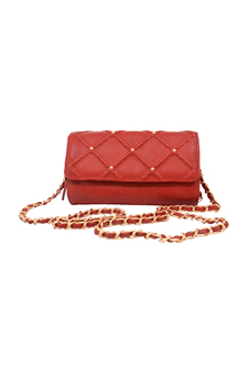 Lee Crossbody Satchel - Red by Big Buddha for Women - 1 Pc Bag