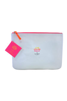 Live Colour Fully by Kate Spade for Women - 1 Pc Cosmetic Bag