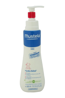 Hydra Bebe Body Lotion by Mustela for Kids - 10.14 oz Lotion