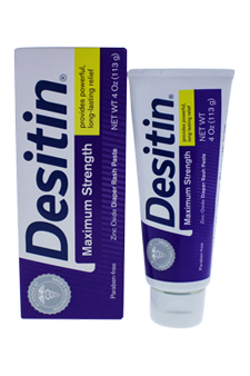 Desitin Diaper Rash Maximum Strength Original Paste by Johnson & Johnson for Kids - 4 oz Paste