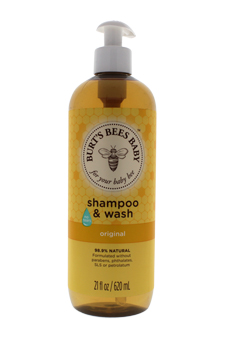 Baby Bee Shampoo & Wash Original by Burt's Bees for Kids - 21 oz Shampoo & Body Wash