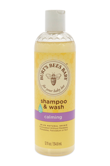 Baby Shampoo & Wash Calming by Burt's Bees for Kids - 12 oz Shampoo & Body Wash