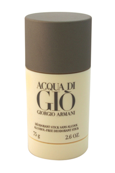 Acqua Di Gio by Giorgio Armani for Men - 2.6 oz Alcohol Free Deodorant Stick