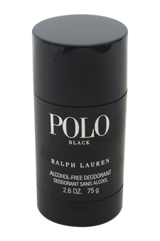 Polo Black by Ralph Lauren for Men - 2.6 oz Alcohol-Free Deodorant Stick
