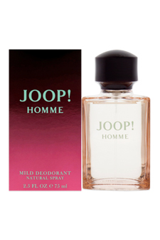 Joop! by Joop! for Men - 2.5 oz Mild Deodorant Spray